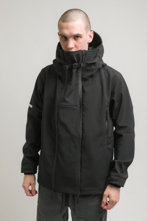 Safe 3 COR Jacket Black Softshell