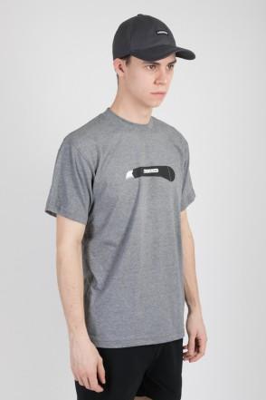 Regular Boxcutter T-shirt Dark Gray Melange