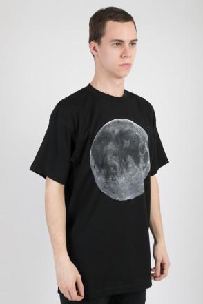 T+ Moon Code T-shirt Black