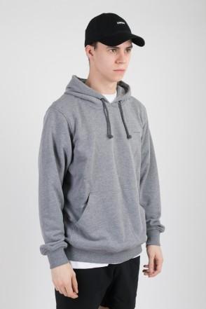 Base Hoodie Dark-gray Melange