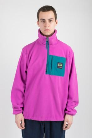 Fever Fleece Sweatshirt Violet/Sea Green