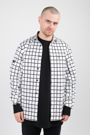 MA-2 COR Shirt White/Black Checks