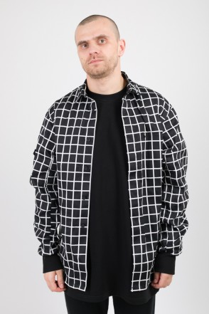 MA-2 COR Shirt Black/White Checks