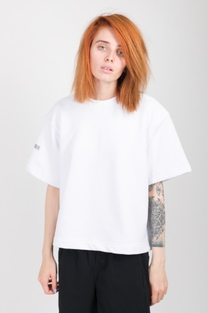 Stage Lady Crop COR T-shirt White
