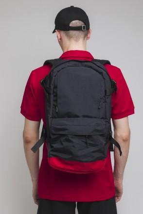 Action Backpack Black/Red/Black logo CODERED