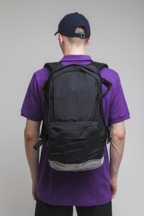 Action Backpack Black/Ash Gray/Black logo CODERED