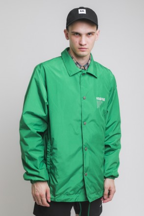 Coach Windbreaker Green