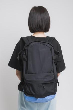 Action Backpack Black/Blue/Black logo CODERED