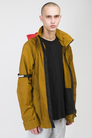 Hidden front COR Jacket Dark Olive Green