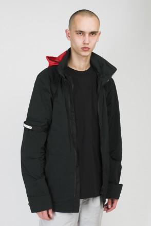 Hidden front COR Jacket Black