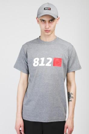 Футболка Regular X Tet91 812 Темно-Серый Меланж