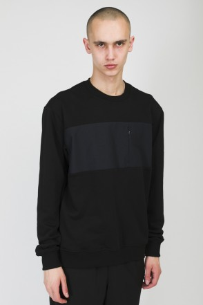 Block Summer Crew-neck Black/Warm Black