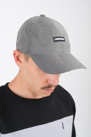 Fact Cap Dark Grey Microfiber