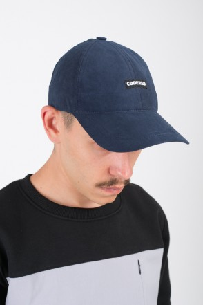 Fact Cap Ink Blue Microfiber