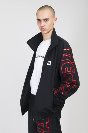 Train Up Track Jacket Black