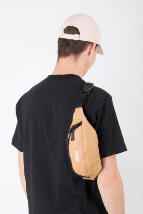 Hip Bag Ochre Art. Leather