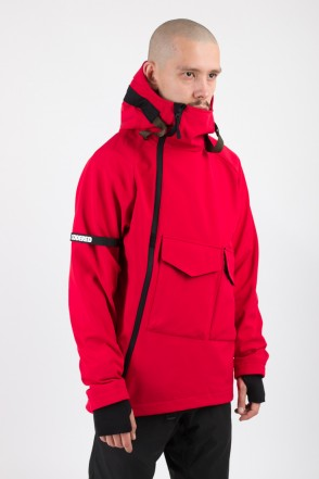 Ank Shell 2 COR Anorak Red