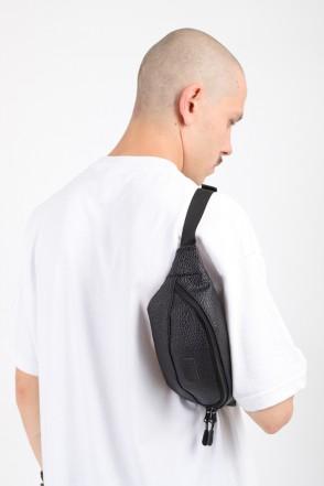 Сумка Hip Bag Черный иск. Кожа Роса
