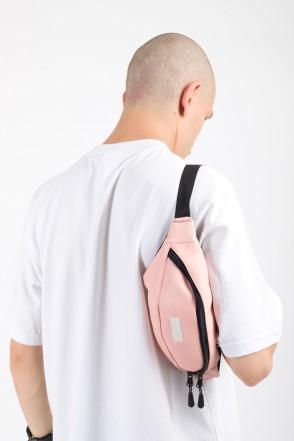 Hip Bag Warm Pink Art. Leather