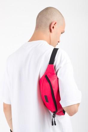 Hip Bag Light Raspberry Art. Leather