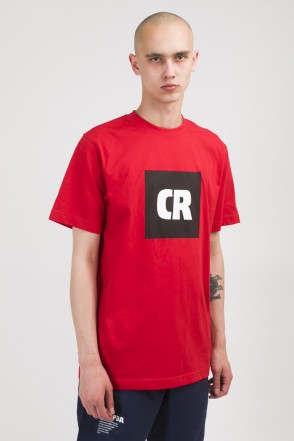Regular CR Cube Logo T-shirt Red