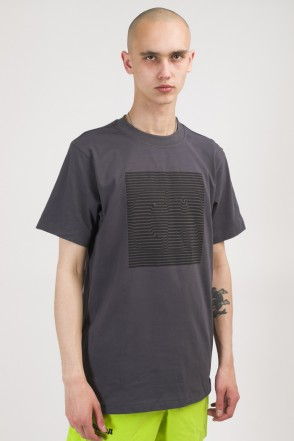 Regular CR Volume Lines T-shirt Dark Grey