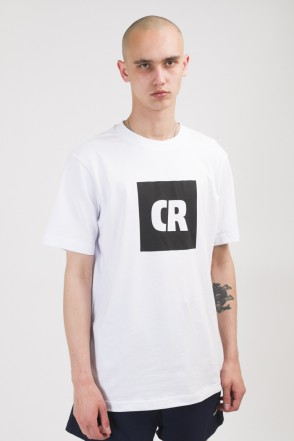 Regular CR Cube Logo T-shirt White