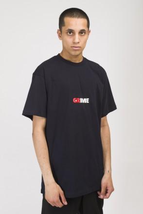 T+ CR / Crime / Grime T-shirt Black