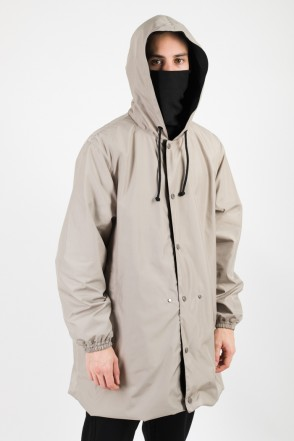 4 Coat Raincoat Gray-Beige