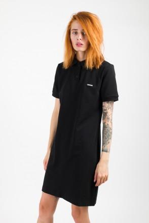 Adress Polo Dress Black