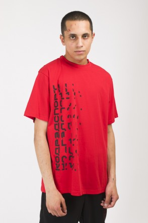 T-Shirt Disappear Front Back Red