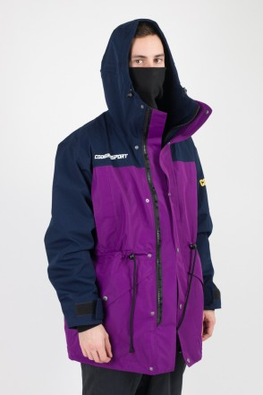 CodeRed Sport Legacy 2 Jacket Ink Blue/Violet