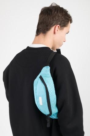 Сумка поясная Hip Bag Голубой иск. Кожа Змея