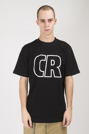 Regular CR Outline T-shirt Black