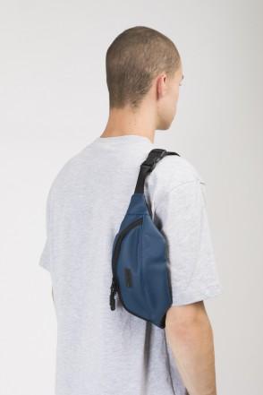 Сумка поясная Hip Bag Синий Кожзам