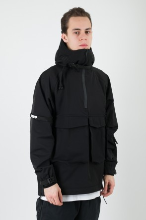 3Z COR Windbreaker Black Membrane