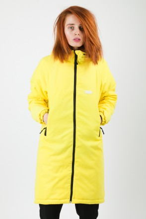 Nib Lady Jacket Light Yellow Microfiber