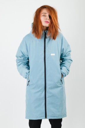 Nib Lady Jacket Light Blue Microfiber