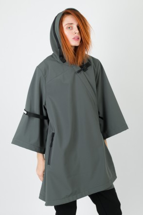AMGP-001 COR Kimono-Jacket Dark Gray