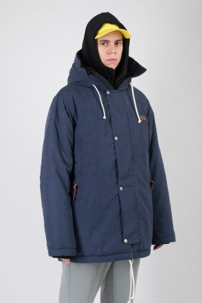 Forward 2 Jacket Dark Blue Microfiber