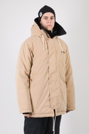 Forward 2 Jacket Beige Microfiber