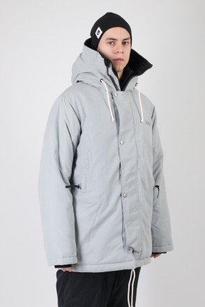 Forward 2 Jacket Light Gray Microfiber