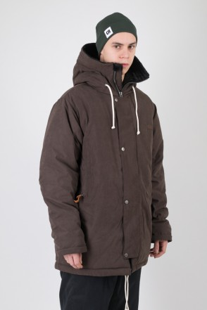 Forward 2 Jacket Brown Microfiber