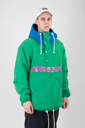 Superblaster 2 Anorak Bright Green/Bright Blue