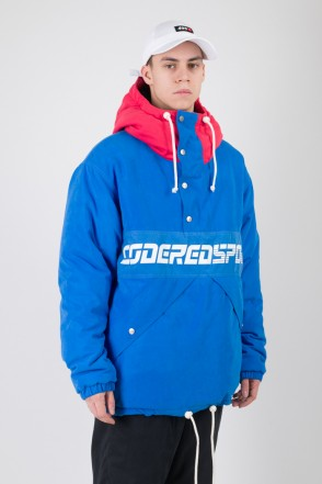 Superblaster 2 Anorak Bright Blue/Red Vintage