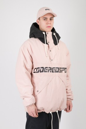 Анорак Superblaster 2 Розовый Светлый/Черный