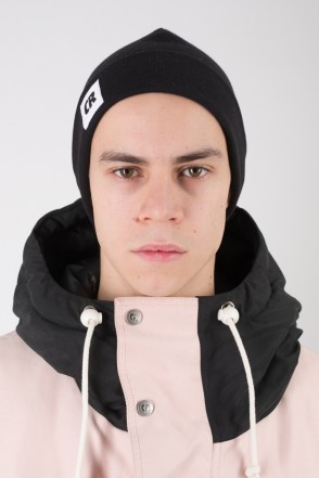 Fat Beanie Black