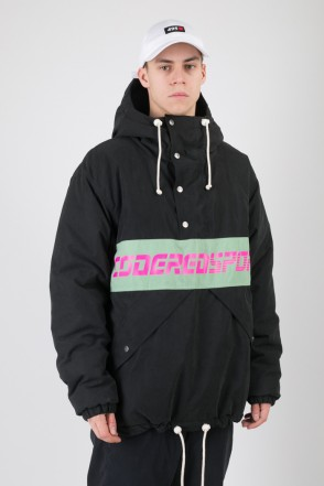 Superblaster 2 Anorak Black/Mint Green