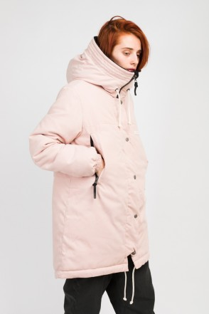 Bluebell 2 Jacket Light Pink Microfiber