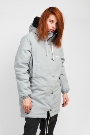 Bluebell 2 Jacket Light Gray Microfiber